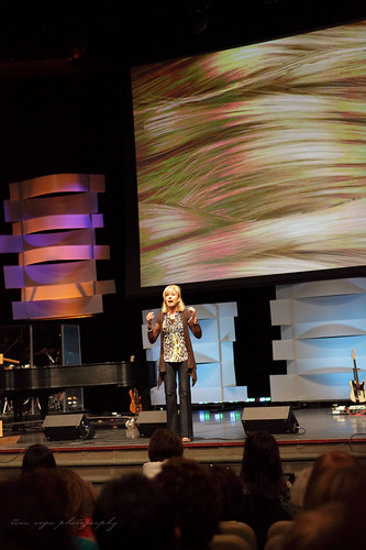 beth moore on stage