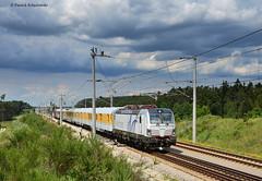 191 902-4 Siemens Vectron (vsoe) Tags: germany bayern deutschland siemens nürnberg 191 vectron allersberg testtrain baverian messzug highspeedtrack hochgeschwindigkeitsstecke
