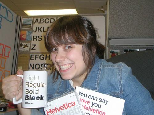 Helvetica Happy
