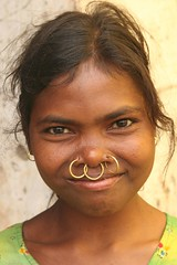 india - orissa (Retlaw Snellac) Tags: travel people woman india tourism beauty canon asian photo women asia asians village tribal tribes tribe orissa bodymodification villagers excellentphotographerawards goldstaraward earthasia odisha noseringthefeminine womenexpression