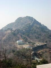 Seoul Fortress Wall up Bugaksan