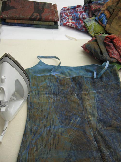 ironing dresses