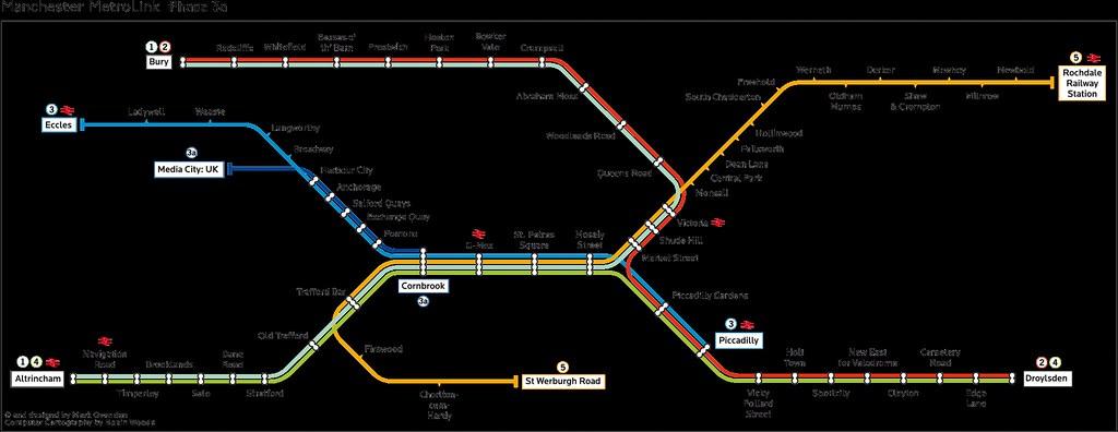 Manchester Underground Map