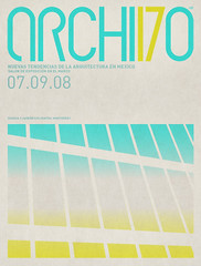 Archivo 17 Poster (Network Osaka) Tags: windows architecture poster mexico typography design graphic mexican 17 osaka network custom archivo modernist