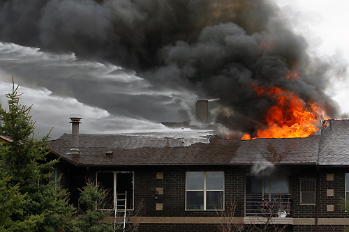 200 elderly residents were evacuated