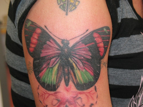 Butterfly Tattoo Johnny Designs