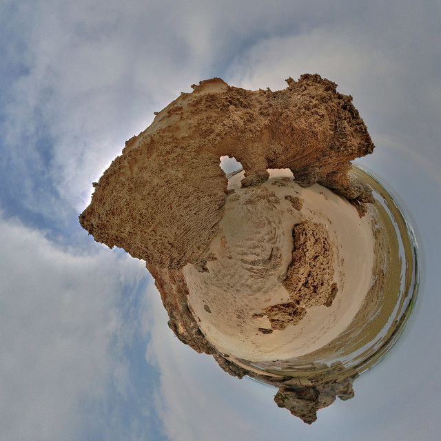 Beaches: Sphinx Rock Ocean Beach Sorrento Vic Stereographic