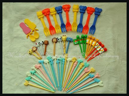 Bento - Picks. Forks & Spoons
