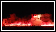 incendio al castello (manuz73) Tags: nikon castello nero incendio notte fuoco buio fumo legnano anawesomeshot anticando rotrossorougerood rocchecastelli rocchefariecastellicastleslighthosesbelltowers