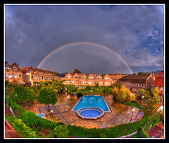 Arco Iris (xn44) Tags: arcoiris rainbow hdr begues doblearcoiris