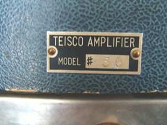 early Teisco #30 amp badge (sano12) Tags: teisco