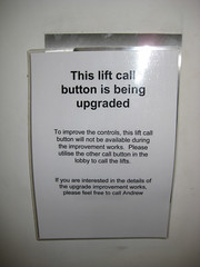 Lift Button Upgrade (by Danny McL)