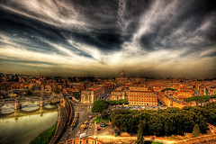 A view of the Vatican State (dfworks) Tags: italy rome roma hdr 3xp photomatix sigma1020 aplusphoto