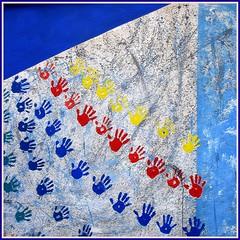 Mural en el Cobach 28 - México 2598 (Lucy Nieto) Tags: school colors méxico mexico mural prepa colores escuela jóvenes youngs sanluispotosi bachillerato sanluispotosí cobach colourartaward