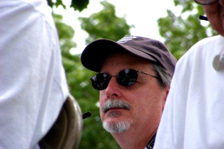 Bill on Parade Float