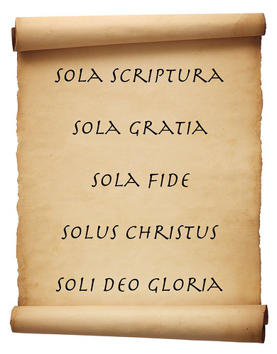 "The Five ""Solas"""