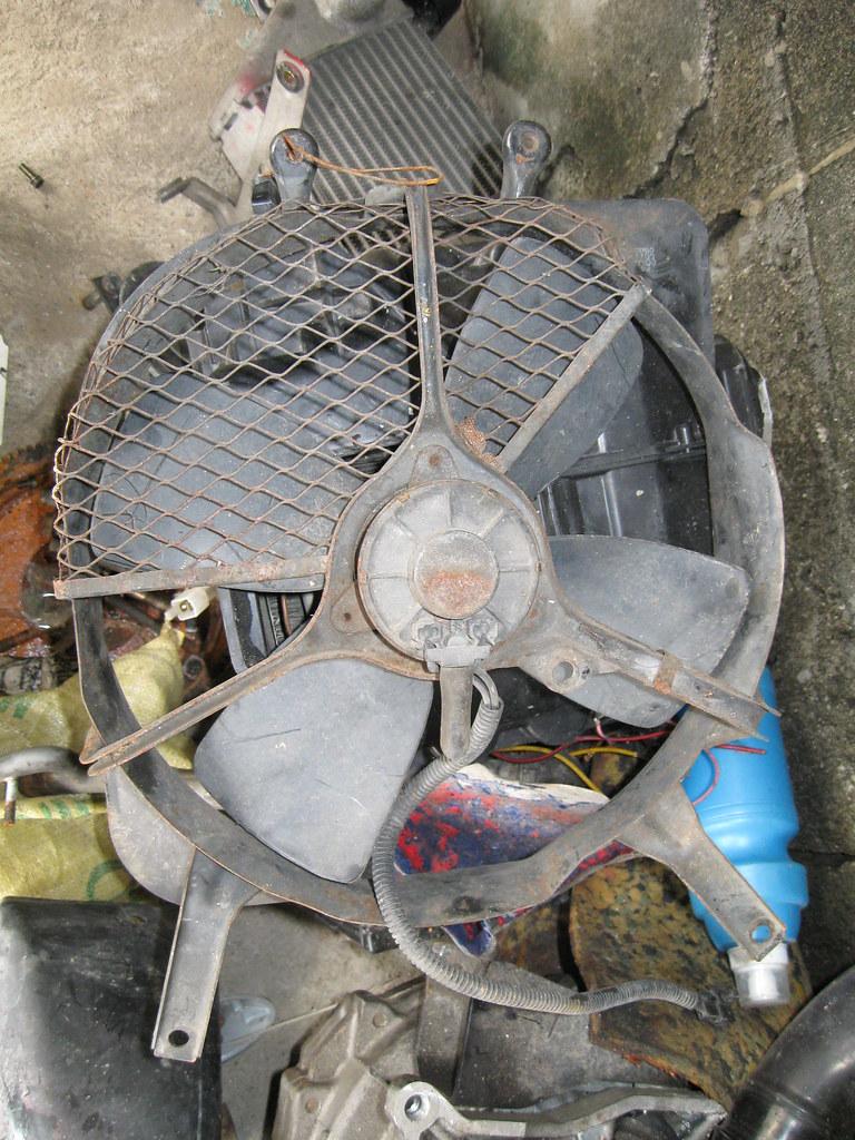 original gtti gtxx condenser fan
