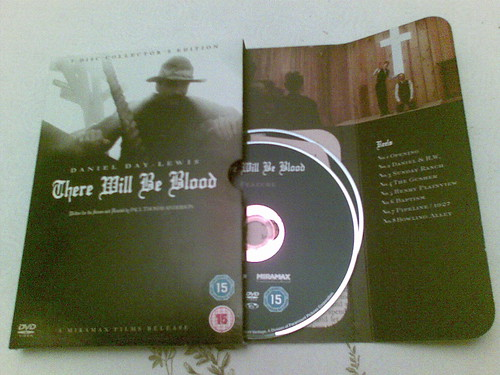There Will Be Blood - DVD cover