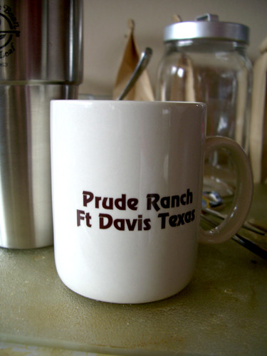 Prude Ranch mug