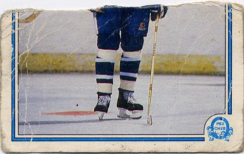 Peter Ihnacak, 83-84 O-Pee-Chee, Toronto Maple Leafs, hockey card