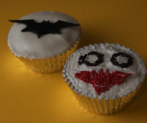 Dark Knight Cupcakes