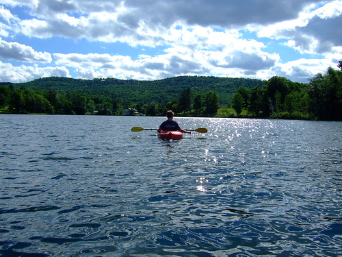 Kayaking on Silver Lake