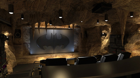 bad cave home theater