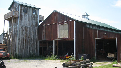 Michigan- Barn and Tower
