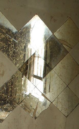 Fractured Window in the Mirror - IMG_4326