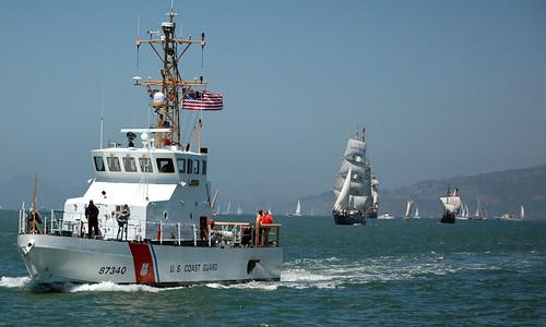 sanfrancisco ca sailboat us d70 nina bounty cutter halibut kaisei uscg uscgc uscgaux auxpa