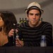 Dania Ramirez and Zachary Quinto