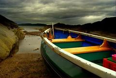 Almost ready....... (Nicolas Valentin) Tags: light scotland boat scenery portencross buoyant outstandingshots colorphotoaward aplusphoto davincitouch poseidonsdance