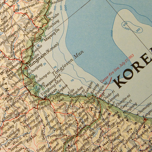 1953_China Coast & Korea