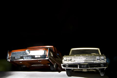 Imperial and Galaxie (Curtis Gregory Perry) Tags: auto old cars car vintage toy toys promo model automobile antique models mobil automotive retro plastic motor promotional automobiles johan obsolete obscure outdated automvil amt xe automobil     samochd  ertl kotse  otomobil   hi   bifrei  automobili   gluaisten