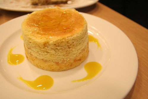 Mango cheesecake at UCC