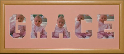 Personalised Frame Pink