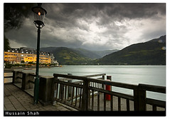 Just Before The Storm (Hussain Shah.) Tags: storm d50 hotel austria nikon sigma grand 1020mm zellamsee shah hussain cokin gnd