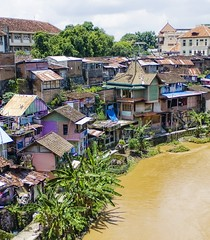The Houses By The River in Indonesia (Stuck in Customs) Tags: poverty houses panorama lines composition work river indonesia photography intense nikon shoot photographer shot angle image photos unique background details poor d2x perspective picture best edge processing tropical pro shack framing portfolio jogjakarta capture hdr floods crowded treatment phenomenon mostviewed leanto highquality poors stuckincustoms treyratcliff