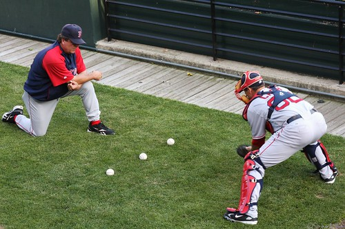Catcher Drills with Kevin Cash