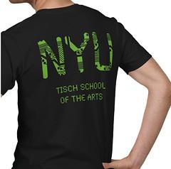 ITP T-Shirt (Circuits & LEDs) - Back View