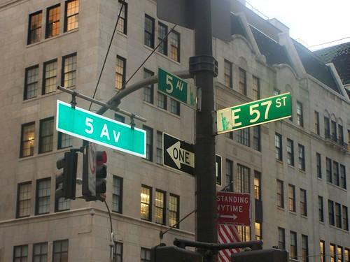 5ª avenida con la 57