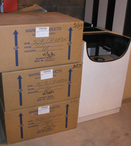 "Kaemark shampoo units 24"" wide Brand New $799.00 each -  Great Deal!"