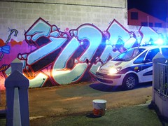 to el after (ZOERONER) Tags: luces policia maderos zoer plastica acab blanqueo