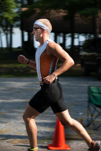 Triathlon in Luray, Virginia