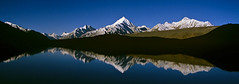 Sun rise at Chandertal lake, Spiti (sapru) Tags: blue mountain lake reflection sunrise reflections landscape still cool fantastic quiet peace horizon lakes relaxing restful calming surreal floating peaceful tranquility calm silence harmony serenity serene dreamlike hush reflexions stillness soe tranquil himachal himalayas balanced poised spiti gentle daybreak soothing calmness quietness comforting himachalpradesh composed otherworldly illusory naturesfinest unruffled chandertal untroubled unperturbed lahaul chandrataal lahualspiti unworried diamondclassphotographer flickrdiamond theunforgettablepictures indianhimalayas platinumheartaward firstrays trancelike lahaulandspiti chandertallake lakesinhimachal treksinhimachal
