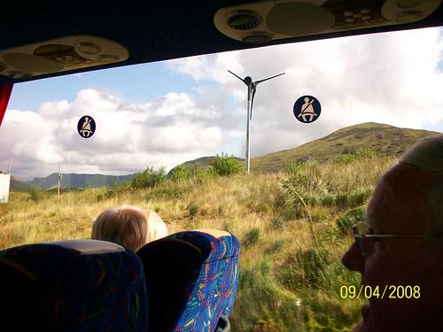 Ireland - countryside - wind turbine
