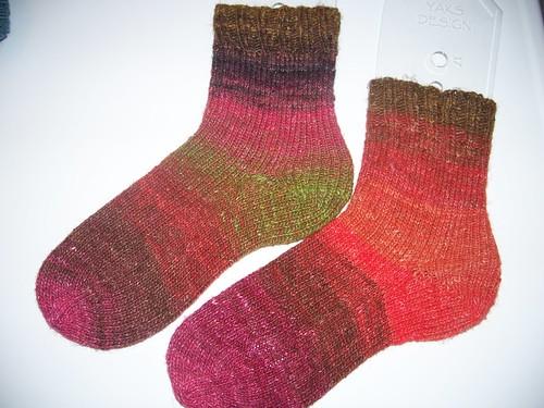Noro Silk Garden Socks