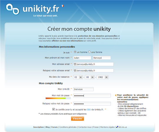 unikity 1