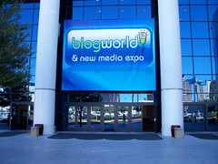 Blog World Expo Entrance