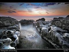 Rising tide at Rest Bay (opobs) Tags: sunset sea sky beach water southwales wales evening seaside rocks pebbles september bcc wfc bridgend porthcawl restbay wetknees dapagroup welshflickrcymru dapagroupmeritaward dapagroupmeritaward3 dapagroupmeritaward2 countyboroughofbridgend opobs bridgenddistrictcameraclub michaeljstokesawpf